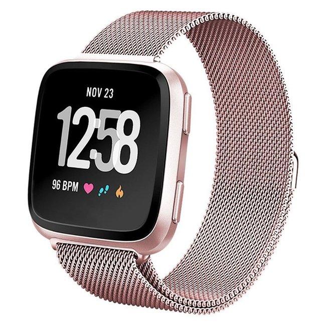 Marke 123watches Fitbit versa milanese band - stieg rot