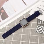 123Watches Fitbit versa nylon gesp band - blau