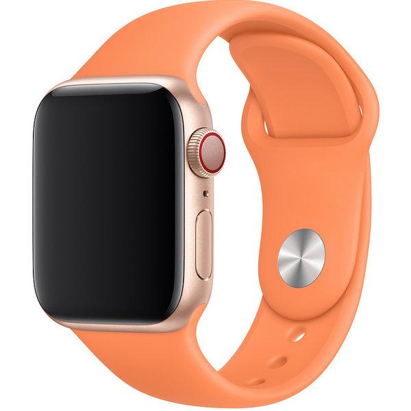 123Watches Apple watch sport band - papaya