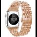 123watches Apple watch verbindungsglied aus edelstahl - Roségold