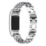 123Watches Fitbit charge 3 & 4 cowboy Gliederband - Silber
