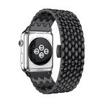 123Watches Apple watch Drache Gliederband - schwarz