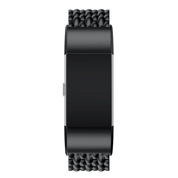 123Watches Fitbit charge 2 Drache Gliederband - schwarz