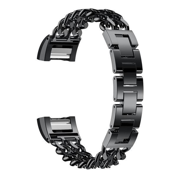 123Watches Fitbit charge 2 cowboy Gliederband - schwarz