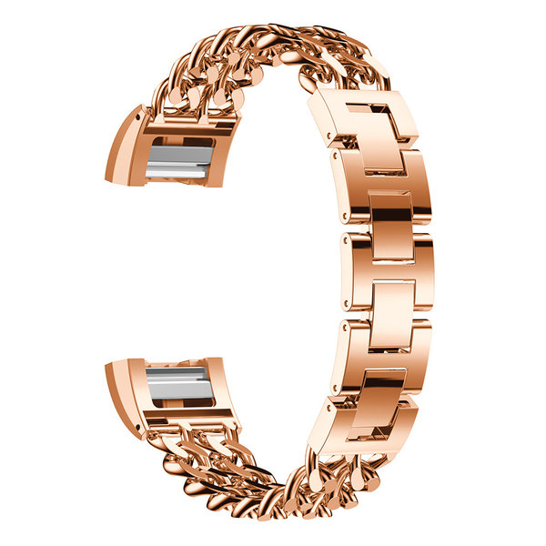 123Watches Fitbit charge 2 cowboy Gliederband - Roségold