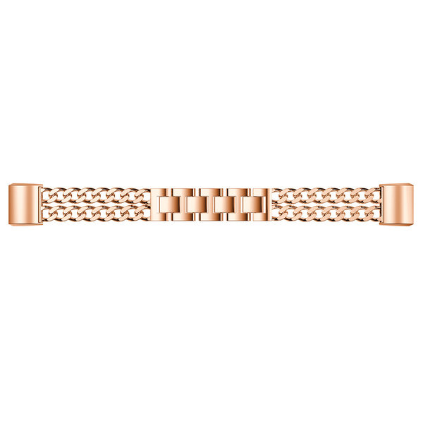 123Watches Fitbit charge 3 & 4 cowboy Gliederband - Roségold