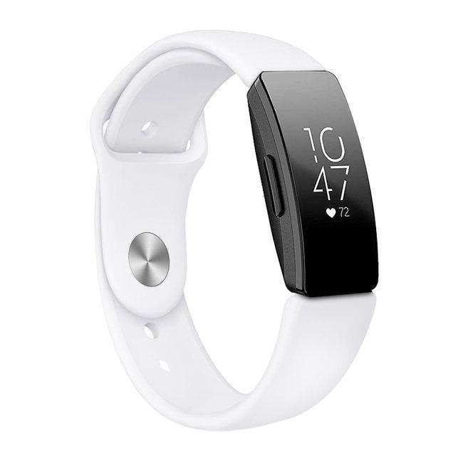 Fitbit Inspire Sport Silikonband - weiß