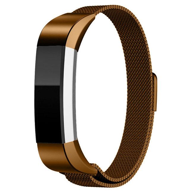 123watches Fitbit Alta milanese band - braun