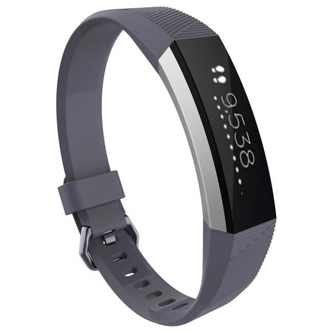 Marke 123watches Fitbit Alta sport band - grau