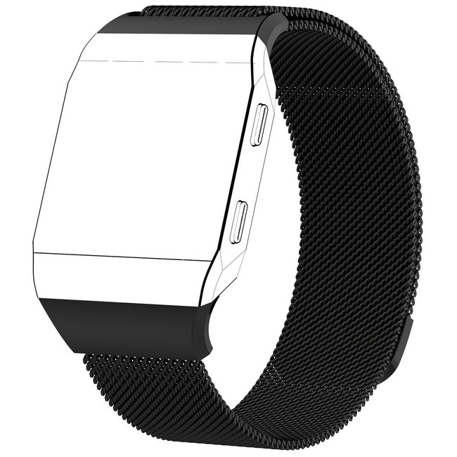Fitbit Ionic milanese band - schwarz