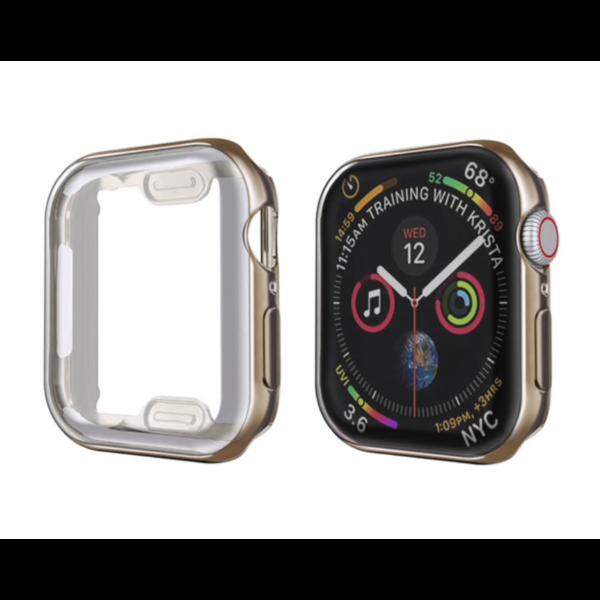 123Watches Apple Watch schlanke weiche Hülle - braun