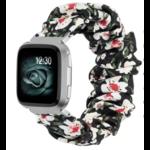 123Watches Fitbit Versa Scrunchie Band - Blumen
