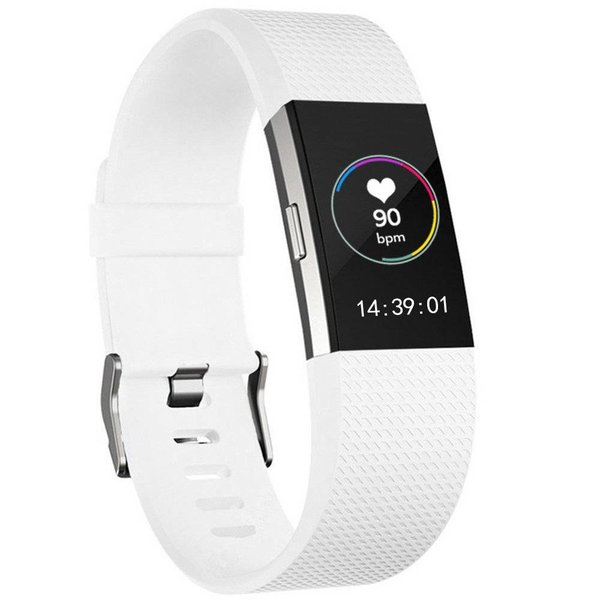 123Watches Fitbit charge 2 sport band - weiß