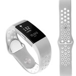 123Watches Fitbit charge 2 sport band - grauweiß