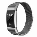 123Watches Fitbit charge 2 milanese band - gun schwarz