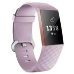 123Watches Fitbit Charge 3 & 4 sport waffel - lavendel
