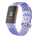 123Watches Fitbit charge 3 & 4 sport point band - lavendel