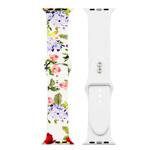 123Watches Apple Watch Print Sportband - Blumen