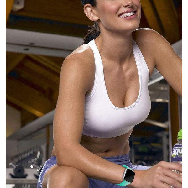 123Watches Fitbit versa sport band - blauer see
