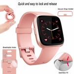 123Watches Fitbit versa sport band - pink