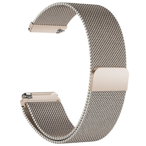 123Watches Fitbit versa milanese band - champagner