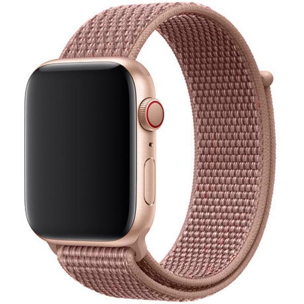 123Watches Apple watch nylon sport band - rosa