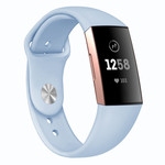 123Watches Fitbit Charge 3 & 4 Sport Silikonband - hellblau