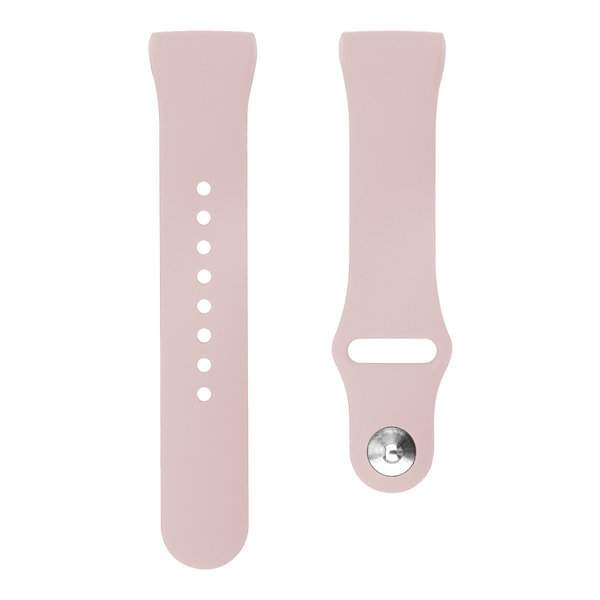 123Watches Fitbit Charge 3 & 4 Sport Silikonband - rosa Sand