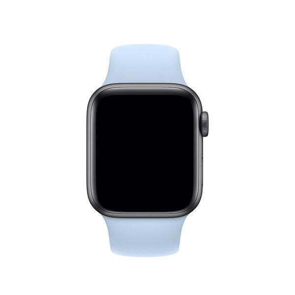 123Watches Apple watch sport band - sky blue