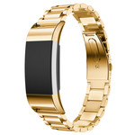 123Watches Fitbit charge 2 3 Perlen Gliederband - gold