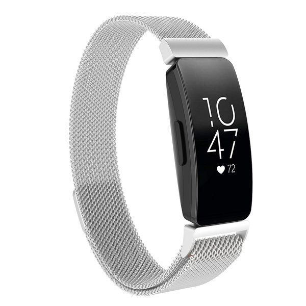 123Watches Fitbit Inspire milanese band - silber