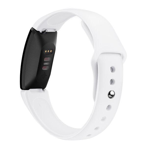 123Watches Fitbit Inspire Sport Silikonband - weiß