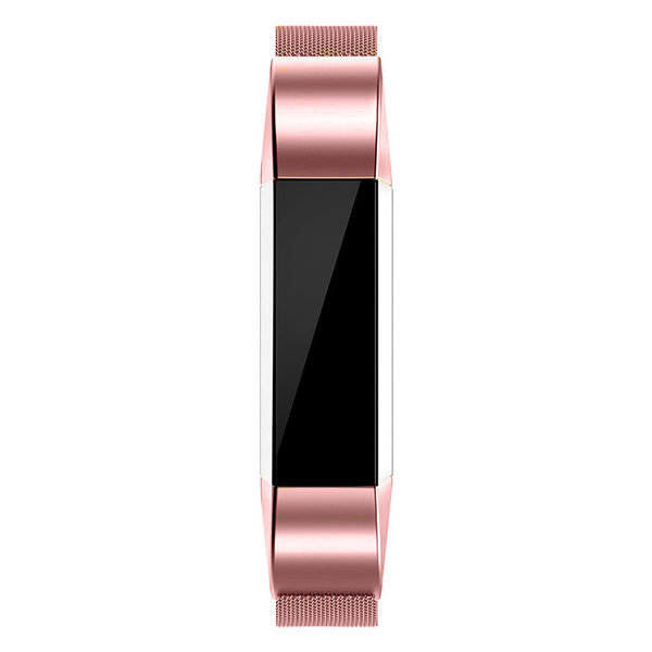 123Watches Fitbit Alta milanese band - pink