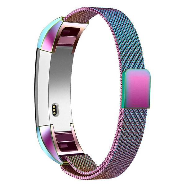 123Watches Fitbit Alta milanese band - colorful