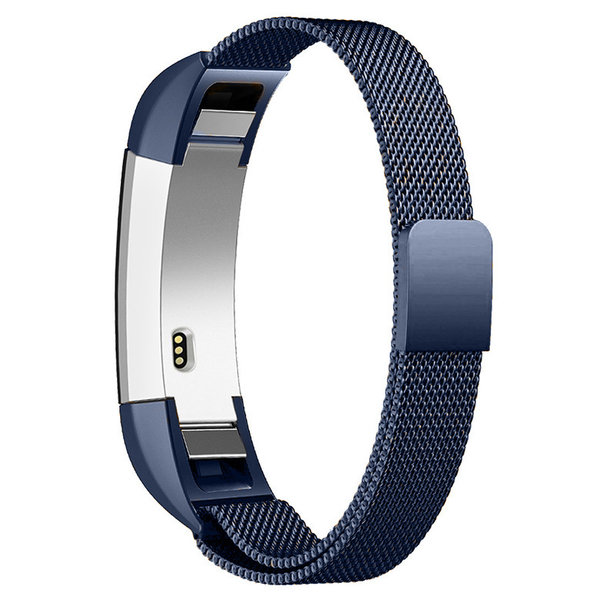 123Watches Fitbit Alta milanese band - blau