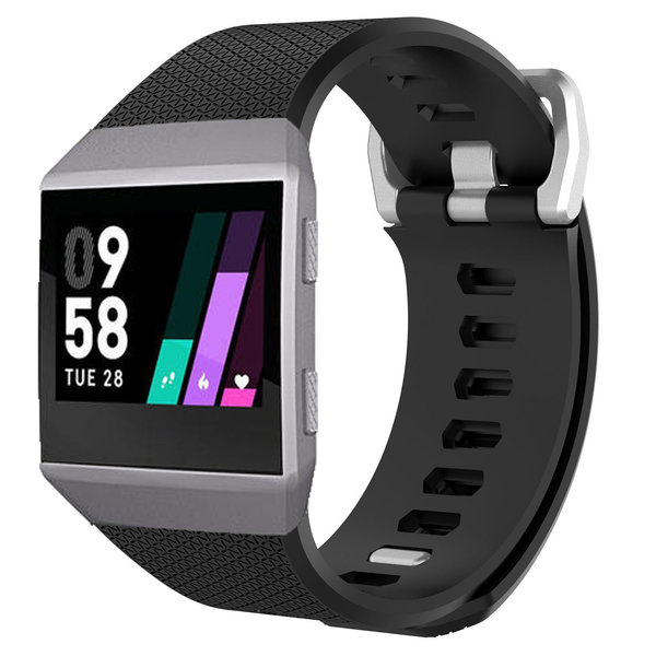 123Watches Fitbit Ionic sport band - schwarz