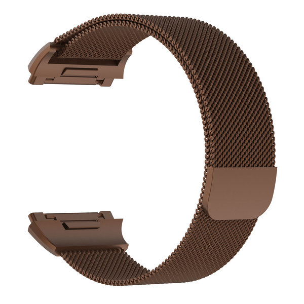 123Watches Fitbit Ionic milanese band - braun