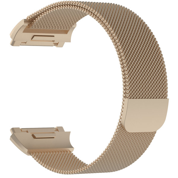 123Watches Fitbit Ionic milanese band - champagner