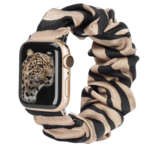 123Watches Apple Watch Scrunchie Band - Zebra