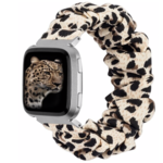 123Watches Fitbit Versa Scrunchie Band - Panther
