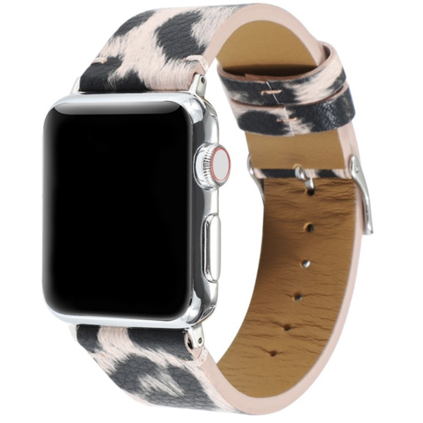 123Watches Apple watch leopard band - rosa