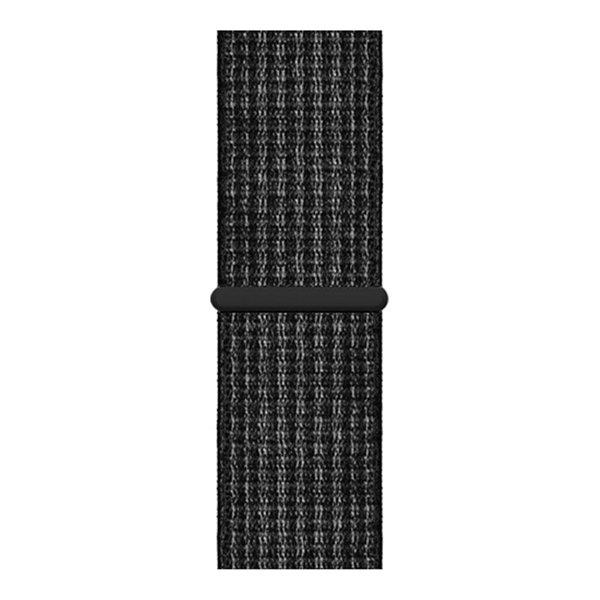123Watches Apple watch nylon sport band - Reflektor schwarz