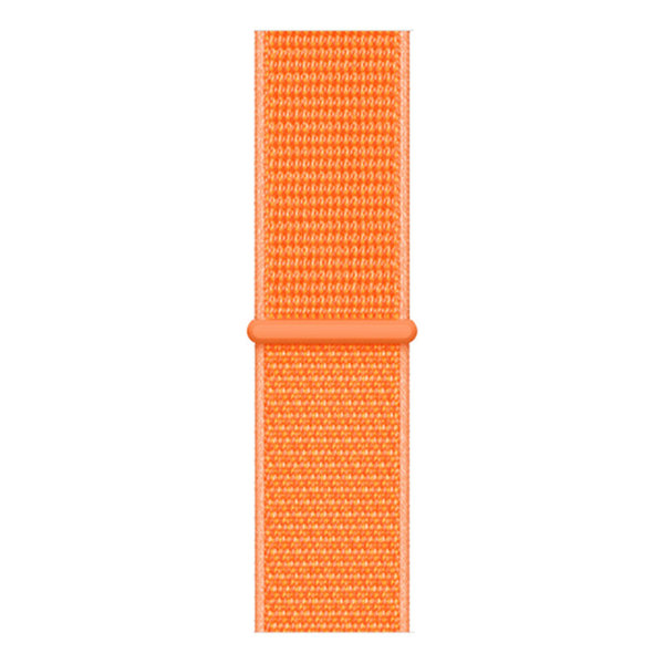 123Watches Apple watch nylon sport band - Papaya