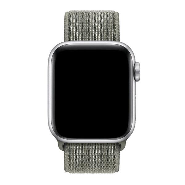 123Watches Apple watch nylon sport band - Fichtennebel