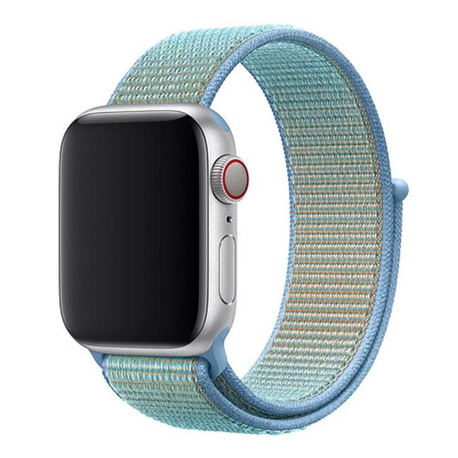 Marke 123watches Apple watch nylon sport band - Kornblume