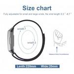123Watches Fitbit Charge 3 & 4 Leder Glitzer Riemen - rosa