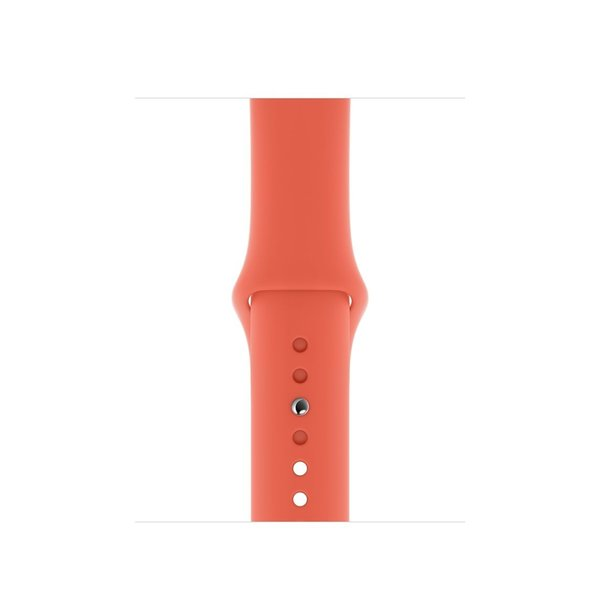 123Watches Apple watch sport band - clementine