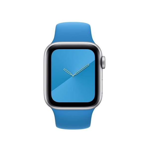 123Watches Apple watch sport band - surfe blau