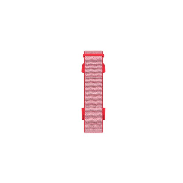 123Watches Fitbit charge 3 & 4 nylon sport band - Pink