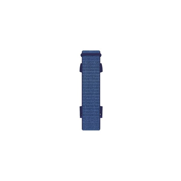 123Watches Fitbit charge 3 & 4 nylon sport band - Mitternachtsnebel